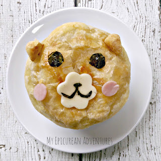 My Epicurean Adventures - Puff Pastry Bear Soup #lunchtimefun