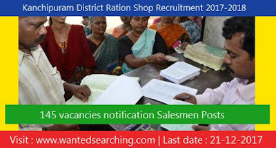 Kanchipuram District Ration Shop Recruitment