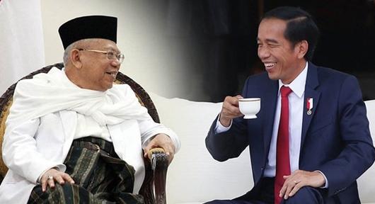 Survei Roy Morgan Unggulkan Pasangan Jokowi-Ma'ruf Amin