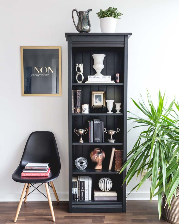 Today Were Excited To Host Crush Interiors With A Guest Post On How Style Moody Black And White Bookcase Is Professional Online