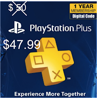PSN 12 a $47.99 mas barato que Amazon