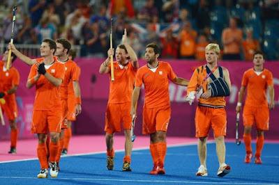 Dutch men's hockey team wins European title