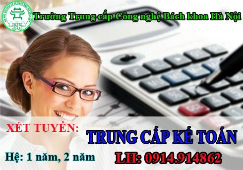 Liên tục tuyển sinh trung cấp Kế toán học tại Hà Nội