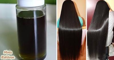 óleo caseiro power para o cabelo crescer