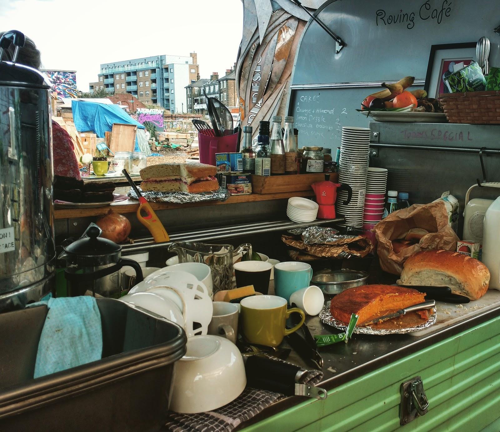 Roving Cafe Spitalfields