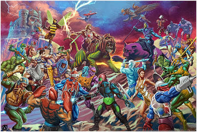 "He-Man and the Masters of the Universe ""The Battle for Grayskull"" Regular Edition Giclee Print by Carlos Valenzuela x Mad Duck Posters"