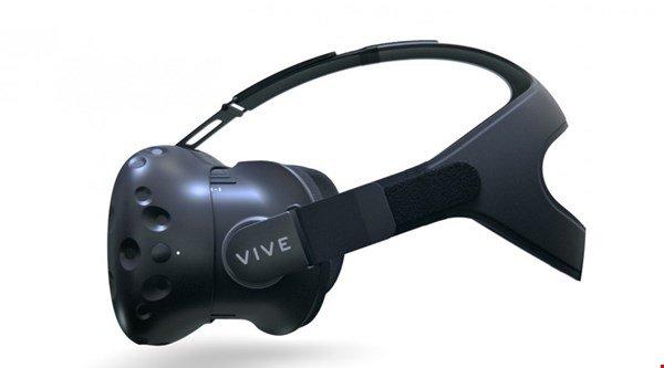 HTC-Valve Vive virtual reality headset
