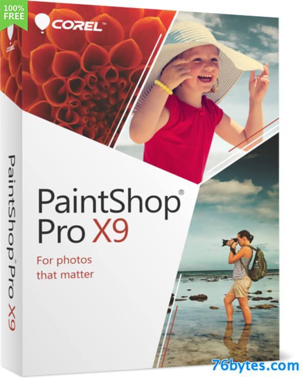 PaintShop Pro Crack X9 Serial Key