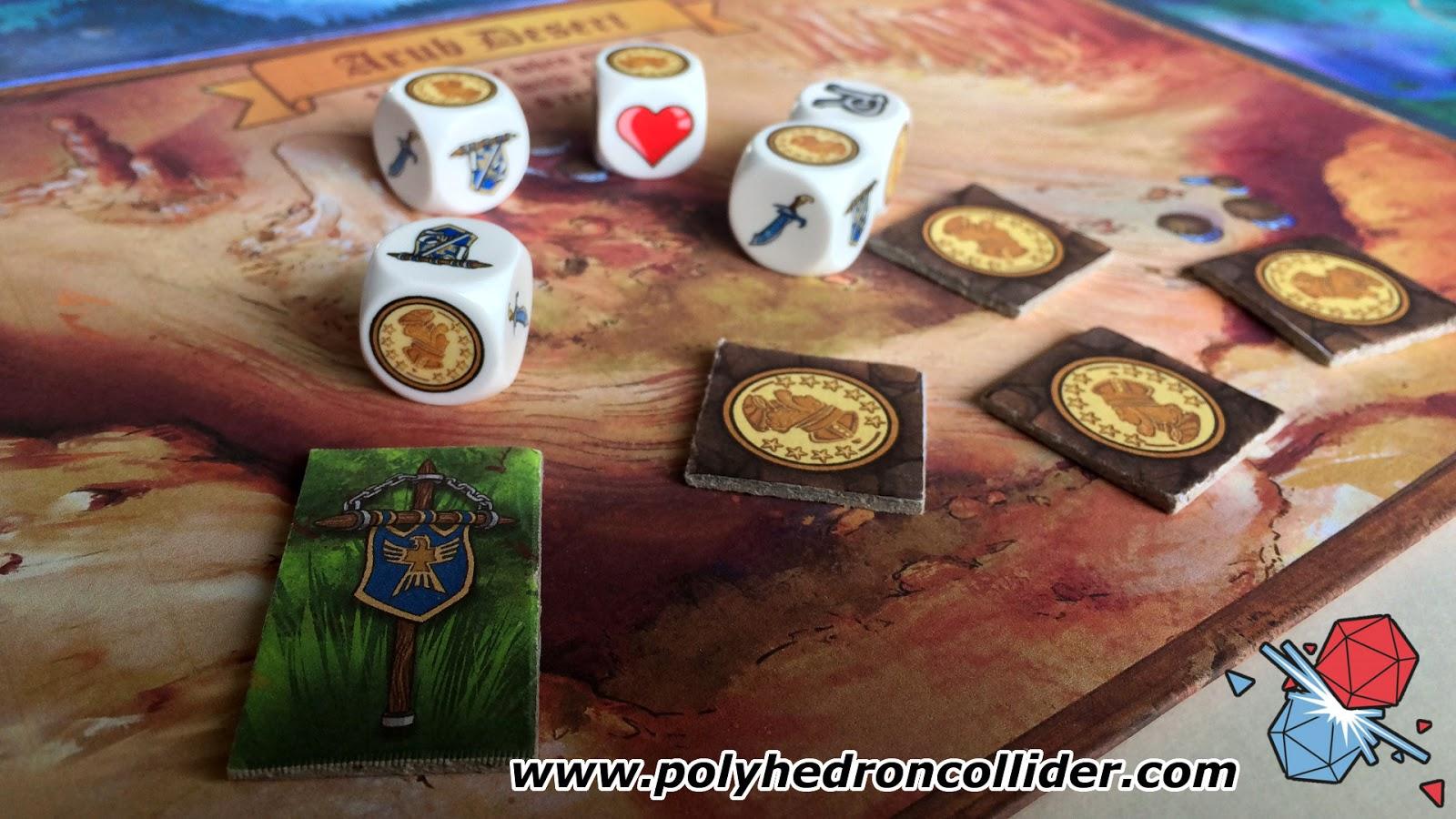 Realm master dice game kickstarter review