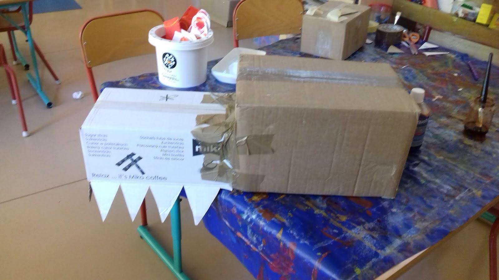 Bibouche En Classe Fabrication D Un Dragon De Carnaval