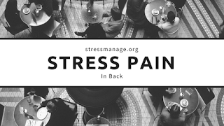 stress pain in back