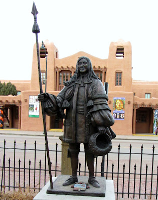 Statue of Don Diego de Vargas in Santa Fe