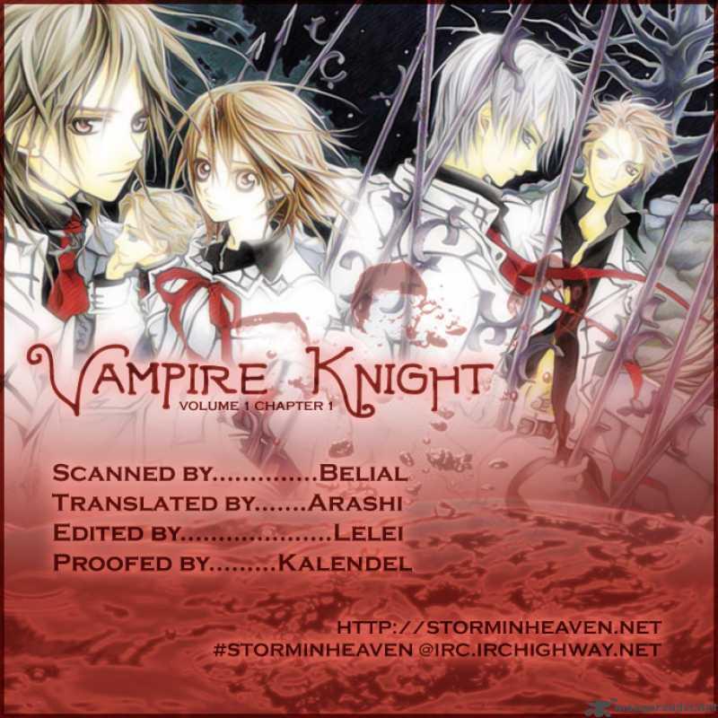 Vampire Knight 001