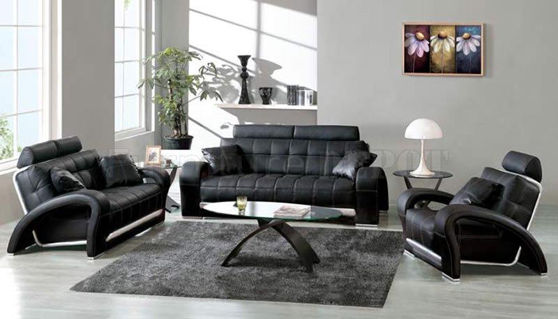 #7 Black & White Livingroom Design Ideas