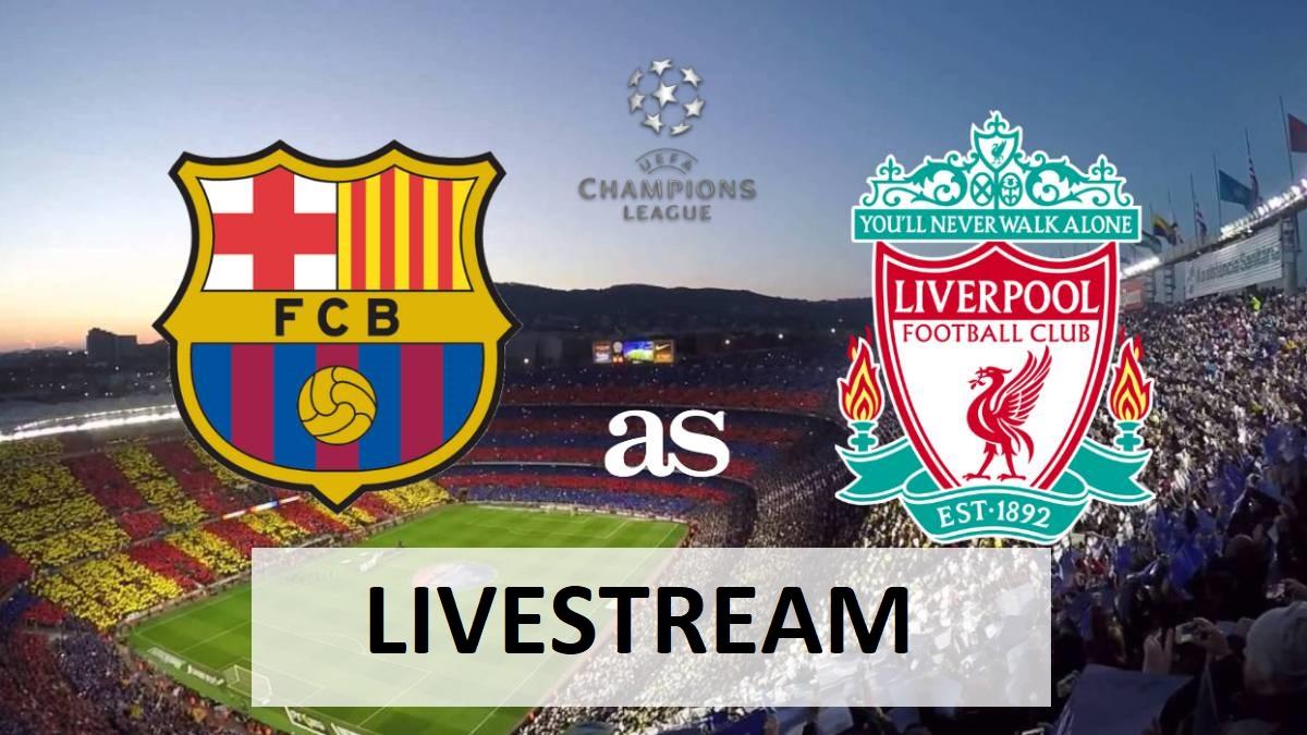 Livestream Liverpool Barcelona