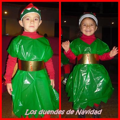 Sorpresas de silvia disfraz de duende - Disfraces de duendes navidenos para ninos ...