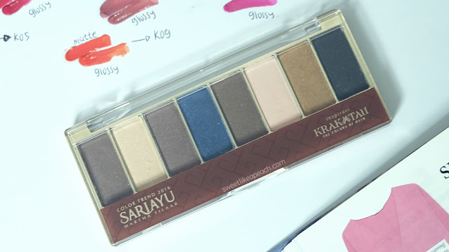 Eye Shadow Sariayu Tren Warna 2011 Exotic