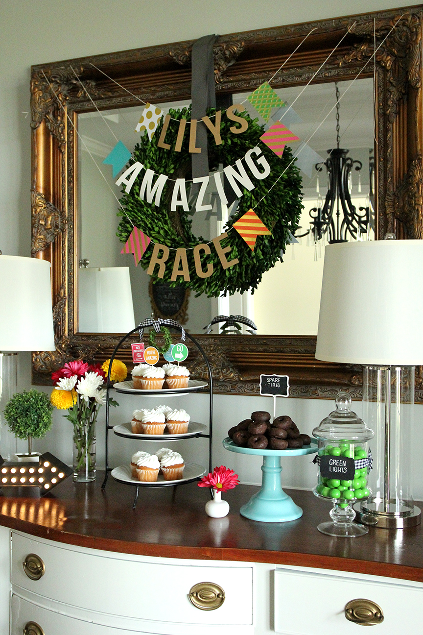 Lilys Amazing Race 13th Birthday Party With Free Printables