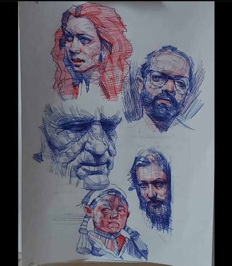 04-Color-Ballpoint-Pen-Soroush-Jahdi-Sketch-Portraits-www-designstack-co