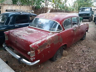 "Lapak Mobil Tua Dijual Opel ""Belair"" Jerman 2pintu Asli..."