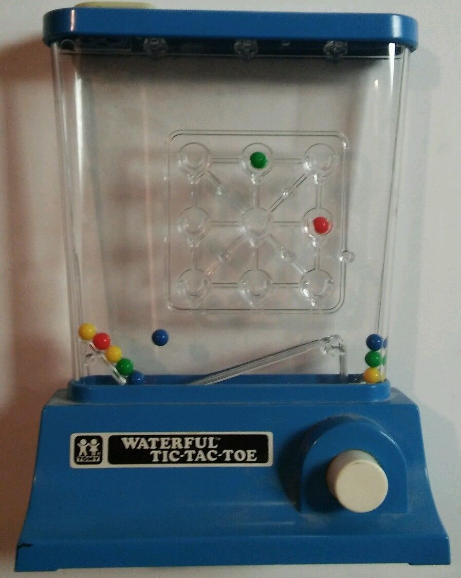 Water Game Toy : Tomy water games vintage toys waterful wonderful jeu d eau