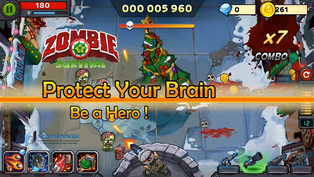 Zombie Survival: Game of Dead MOD APK v2.0.5 Unlimited Money
