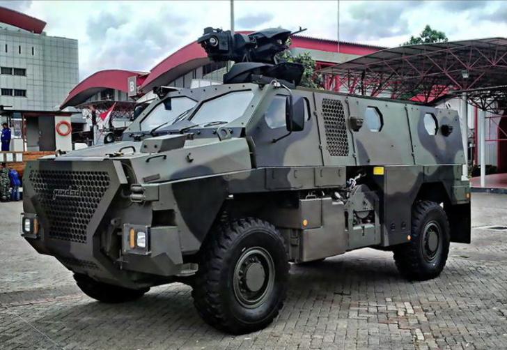 Rantis Sanca MRAP PT Pindad
