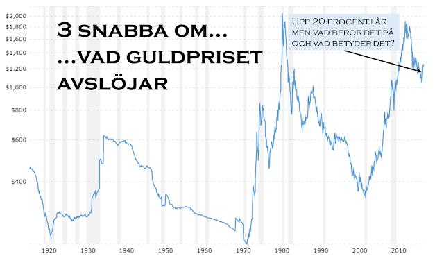 Vad styr priset på guld?