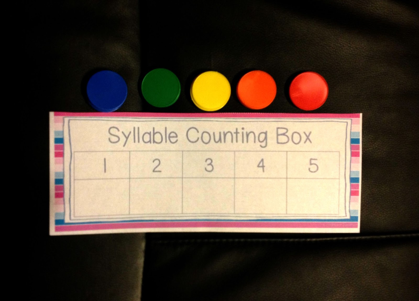 Primary Junction: Counting and Segmenting Syllables