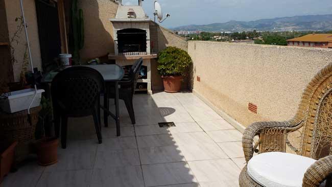 duplex en alquiler calle forada grao castellon terraza