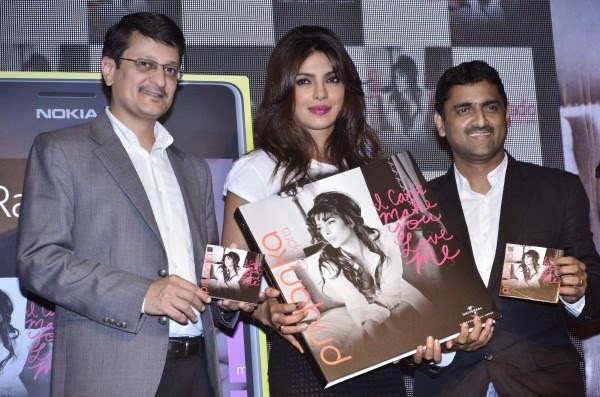 Priyanka Chopra at I Can`t Make You Love Me Album Launch