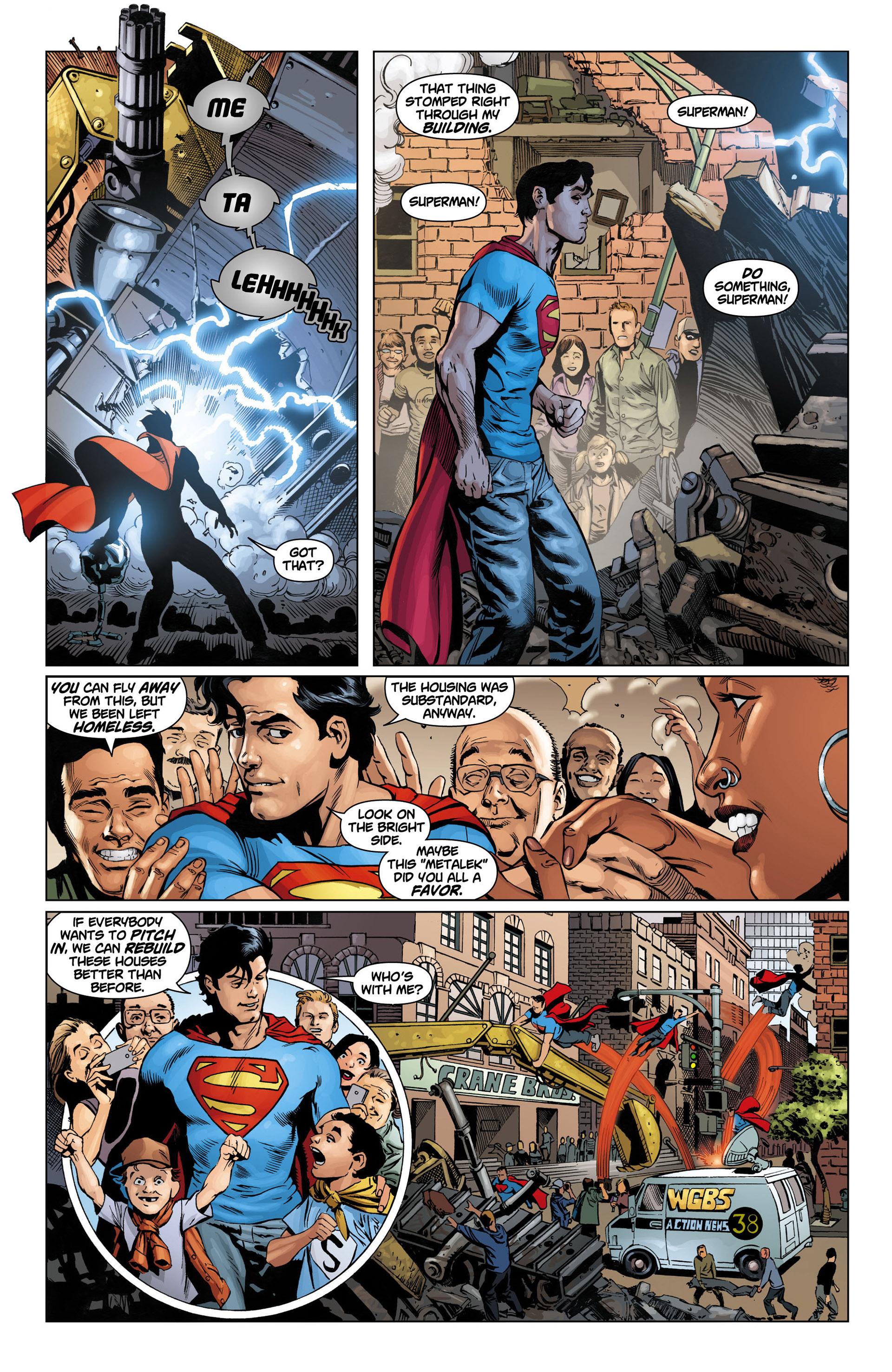 Read online Action Comics (2011) comic -  Issue #11 - 4