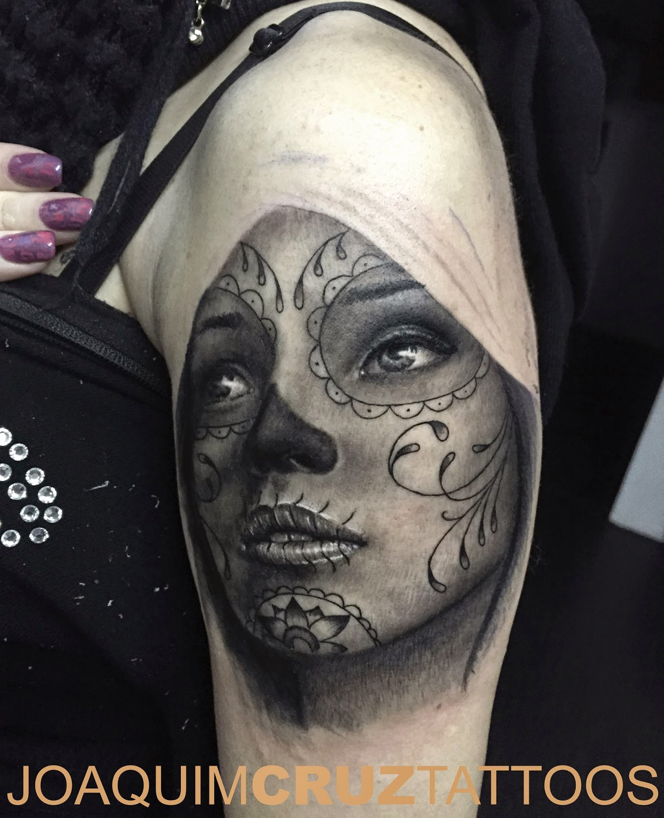Tatuagens Femininas Na Coxa Catrina