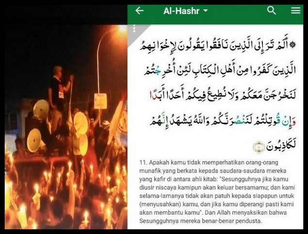 Penista Sudah Dipenjara Tetap Dibela, Ternyata Sifat Mereka Telah Allah Abadikan dalam Al-Quran