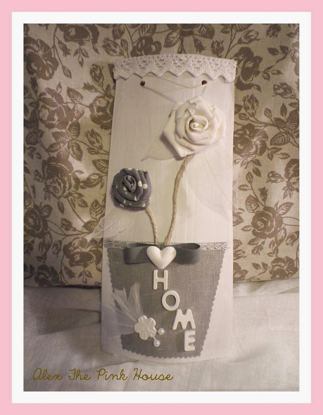 Coprisedie Shabby Chic Alex The Pink House Tegole Shabby Chic
