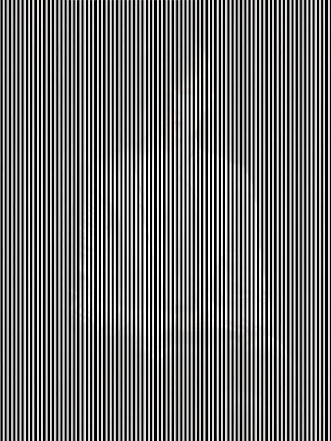Çizgiler arasında gizlenmiş bir adam resmi