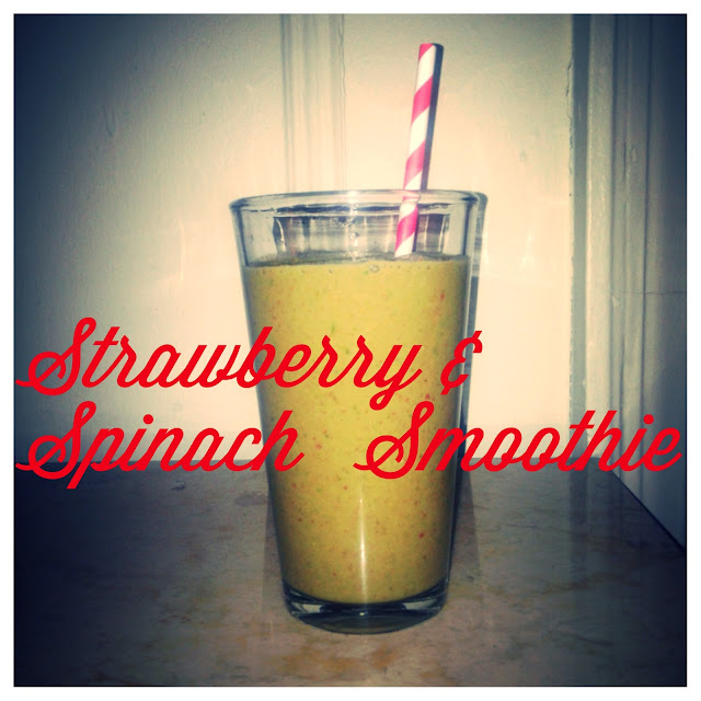 Eating Fabulously, Christopher Stewart, strawberry and spinach smoothie