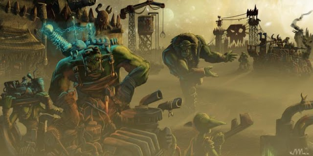 Ork Wave with New Box Sets