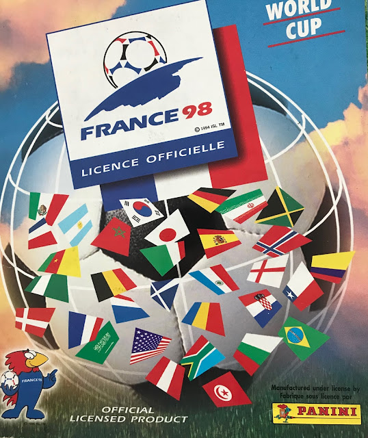 Copertina Album Panini Francia '98