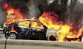 Εγκληματική ενέργεια δείχνουν τα στοιχεία από το φλεγόμενο όχημα στο Κερατσίνι