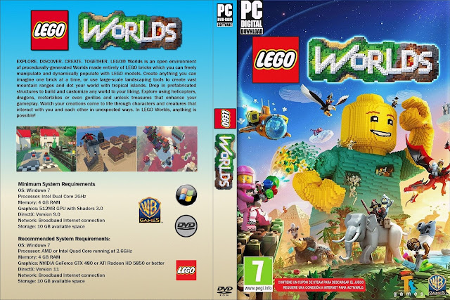 Capa LEGO Worlds PC
