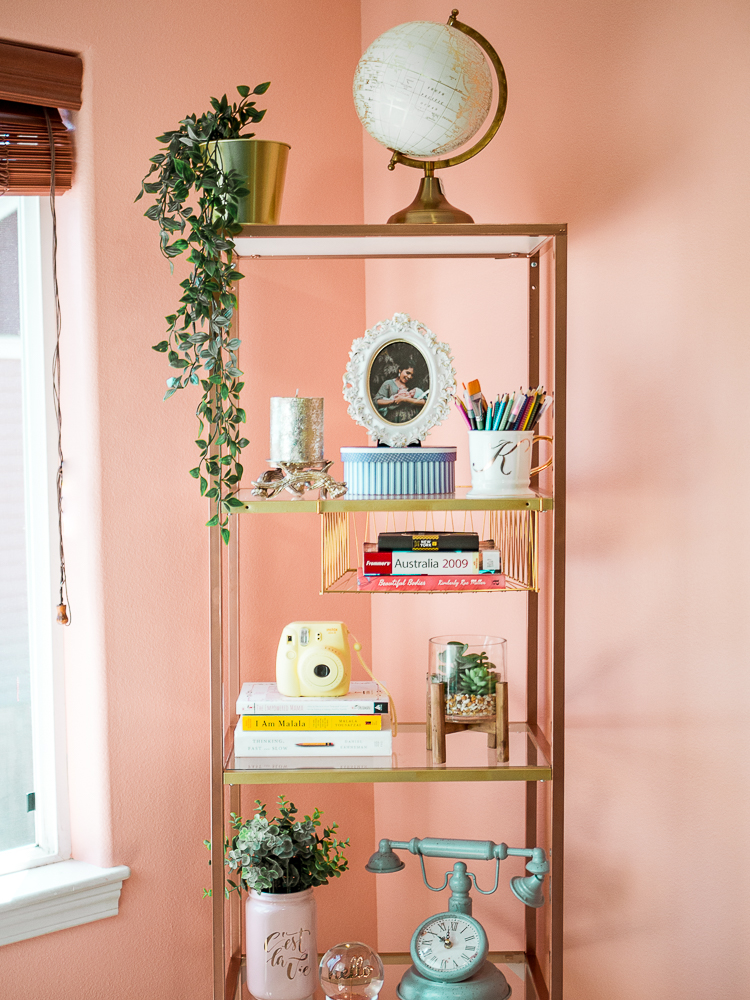 DIY Bookshelf & Decorating