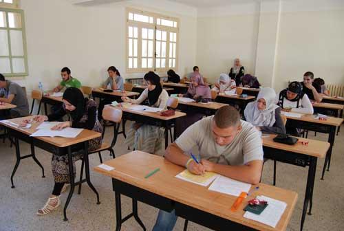 جدول مواعيد امتحانات الفصل الدراسى الأول 2018/2017