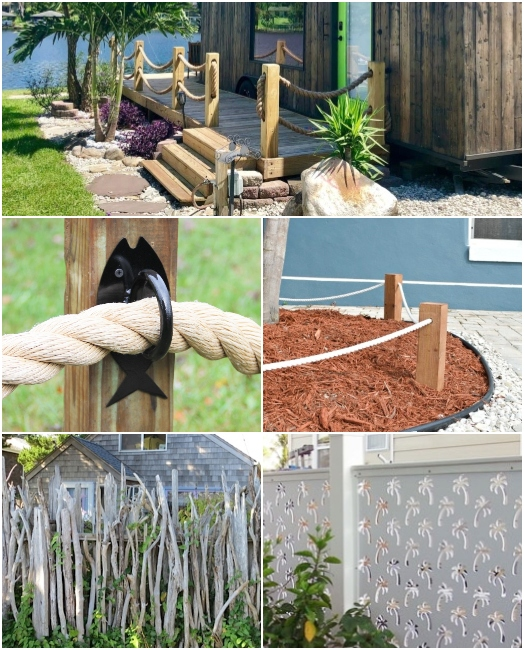 Coastal Nautical Fencing Design Ideas