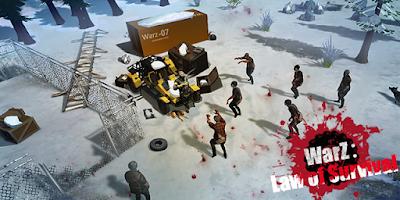 WarZ: Law of Survival v1.6.9 Mega Mod Apk (Free Shopping)