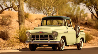 1956 Chevrolet Series 3100 Pickup Front Left
