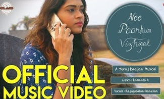 Nee Paarkum Vizhigal (Indie Song) | Official Music Video | Suraj Raajan | Baumwolle Hawkers