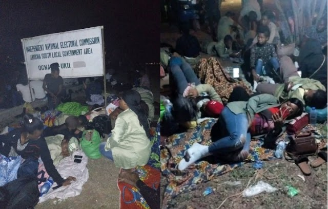 2019 ELECTION: See some photos of poor conditions of corpers