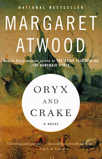ORYX AND CRAKE - BOOK COVER
