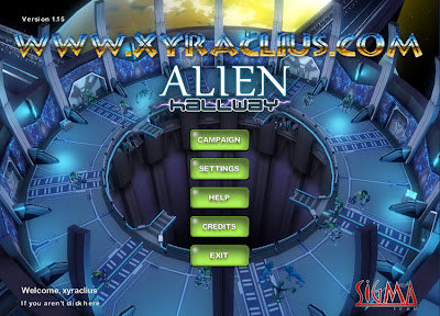 Download Game Alien Hallway 1.1.5 Full Version